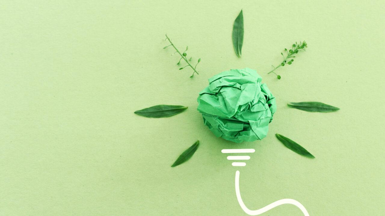 concept di sostenibilità nel printing